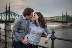 Engagement Session in Budapest, Hungary