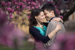 Spring Engagement Session in Hungary, Europe