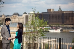 Engagement Session by the Danube in Budapest and Vienna