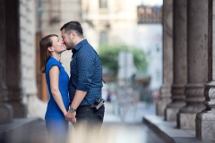 Contemporary Engagement Portrait