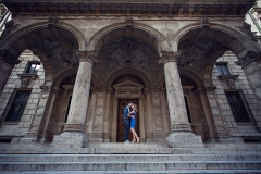 Engaged Couple Budapest Photo
