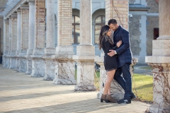 Buda and Pest Winter Engagement Photo Session