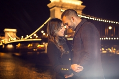 E-session Photography by the Chain Bridge