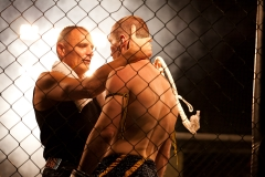 Cage Fight in Hungary