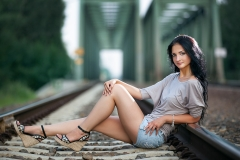 Fashion Photography on the Rails