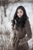 Portraitfotografie im Winter