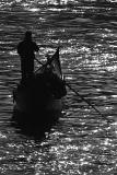 Schwarzweiss Foto aus Venedig