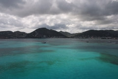 Ozean bei St. Martin Insel
