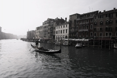 Venice Boat and Buildings
