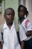 Schulkinder in Roatan - Honduras