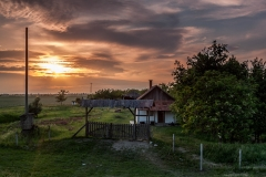 Sunset at the Farmhouse