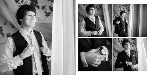 Fekete-Fehér Esküvői Fotókönyv