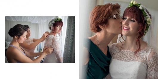 Síkban Nyíló Esküvői Albumoldalak