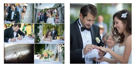 Hochzeit Digitalalben mit Design