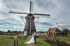 Windmill Wedding Photo