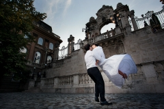 Floating Wedding Couple