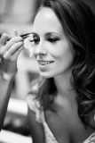 Black and White Contemporary Bridal Image