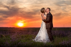 Sunset Wedding Images