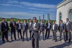 Indian Wedding, Groom and Groomsmen