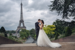 Wedding Photography in Paris, Eiffel Tower
