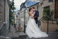 Wedding Photography in Montmartre, Paris