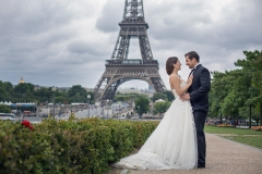 Wedding Photographer Paris, Eiffel Tower