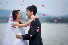 Wedding Photography with Petals