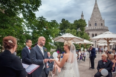 Wedding Photography Budapest Fisherman's Bastion