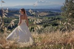 Braut in Italien