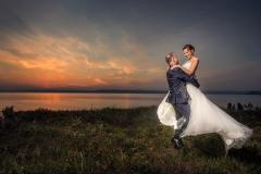 Esküvői Fotózás a Balatonnál