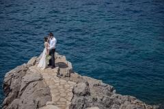 Hochzeitsfotografie beim Meer