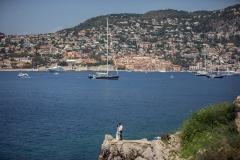 Hochzeitsfotografie bei dem Mittelmeer