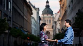 Jegyespár Fotózás Budapest, Magyarország